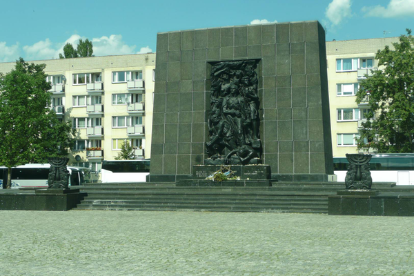 Monument to the Ghetto Heroes