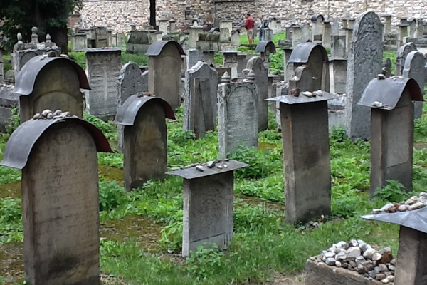 The Jewish Cemetery in Krakow