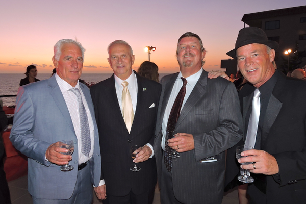 Sparky Longley, Wayne Eggleston, Rick Arons and Don Kindred