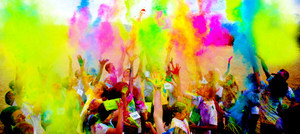 Medium color run picture