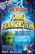 Medium young frankenstein poster