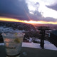 Sunset Happy Hour atop the gondola provides a great opportunity for watching the sun set over the Yampa Valley  Photo by Julie Hebard