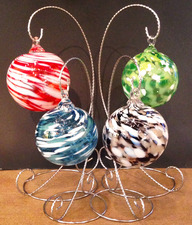 Handblown Glass Ornaments Workshops - start Nov 22 2014 1000AM