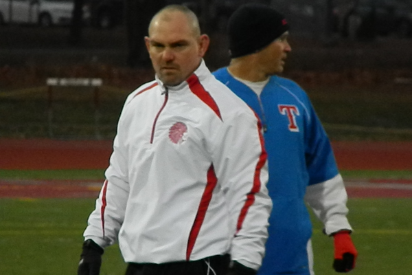 TMHS coach Brian Aylward led the Redmen to another Div. 3 Northeast title