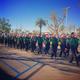 A sunny Southern California holiday parade