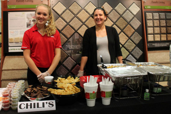 Mary Keosykhao (left) and Teresa-Lynn Stewart of Chili's