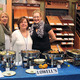 Representing Lowell's Restaurant was Jennifer Stevens, owner Lydia Kotsianas, and Nicole Gober