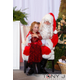 Tenley Raymond and Santa