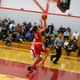 Karalyn Gallella (21) goes up for two of her eight points against Tyngsboro.