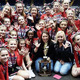 Members of the Bellingham Pop Warner Cheerleading Squad at the Regionals