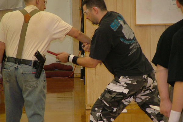 Courtesy photo Kloss helps people learn practical self-defense techniques.