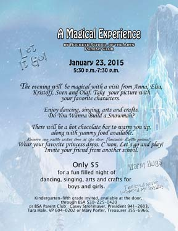 Bsa frozen flyer 20for 20eventbrite
