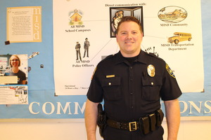 MISD Police Officer Stephen St Clair Photo courtesy of MISD