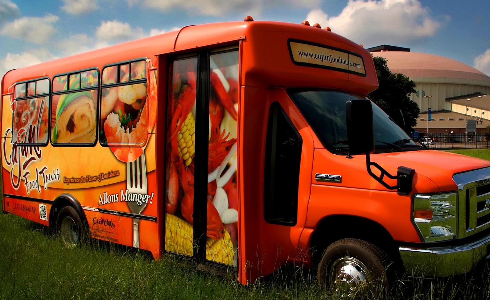 Lafayette S Cajun Food Tours Bus
