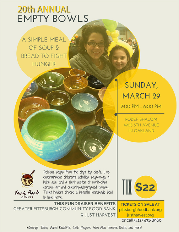 Empty bowls 2015 flyer