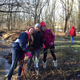 Middle school students cleaned up Anson B. Nixon Park on Monday morning.