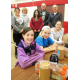 Volunteers made 300 lunches at Hillendale Elementary School.