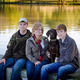 Stacy Ewert with Family, Photo By: MJ Photography