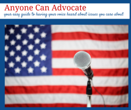 Anyone Can Advocate - start Apr 11 2015 0930AM