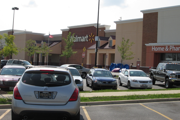 The Walmart store is part of the expansion on the west side of Middletown.