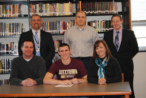 Oxfords Hubley signs to play football at Kutztown University - 02042015 0611PM