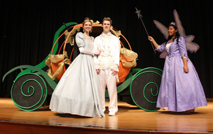 Cinderella coming to Oxford Area High School  - 02092015 0139PM