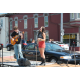 There was plenty of entertainment at the Peach Festival. Local singer Alyssa Lee Lewis entertained the audience at the Cochran Square stage.