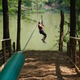 The Go Ape Treetop Adventure Course at Lums Pond in Newark.