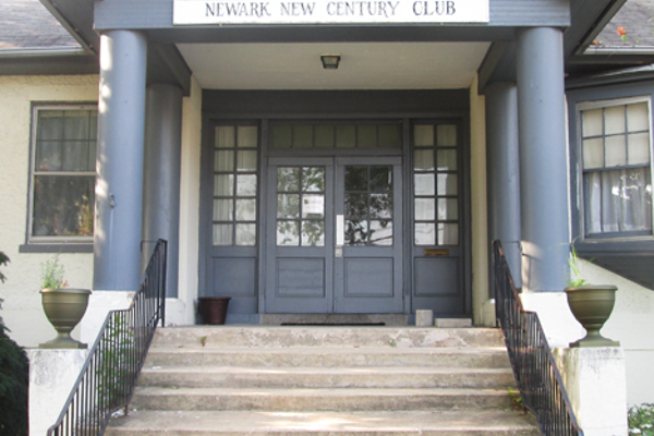 The New Century Club was the site of countless dances and civic events in Newark.