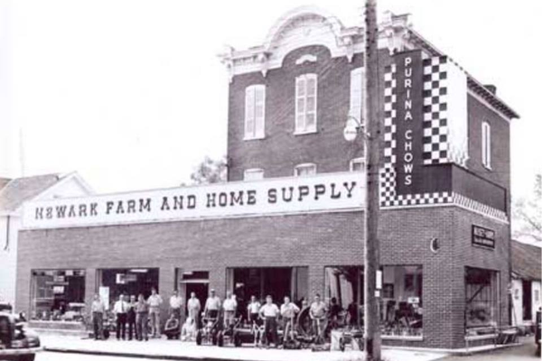 The reliable Farm and Home store was known for having whatever you needed.