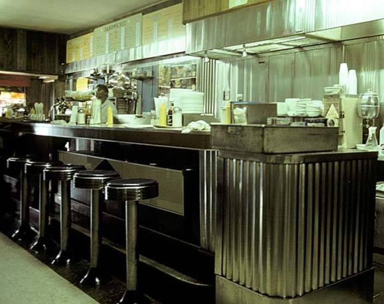 The Interior Of The Deluxe Luncheonette, Which Used To Be Next Door To The  State