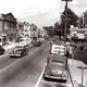 Main Street in the late 1940s, when traffic was two-way.