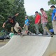 Skaters of all ages have embraced the new skate spot.