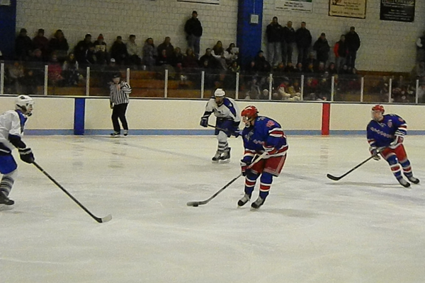 Fabio Riparo (18) had a goal and an assist against Methuen.
