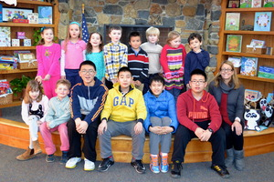 Upland welcomes exchange students from Beijing - 02182015 1028AM