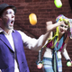 """""""The old notion of squeaky-clean clowns is dead,"""" Candi said.  """"Thinking outside the box gives us a lot more wiggle room in what we can clown.""""  The clown duo is looking for-ward to performing in a benefit show in April to help buy medical supplies for a local per-former in need. Photo: Robert Berlin"""