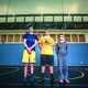 Tyler Kerr Michael Miller and Darren Baker helped lead the Bordentown Regional wrestling to the Central Jersey Group I semifinals Photo by Albert Rende