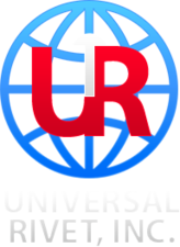 Medium universal rivet logo