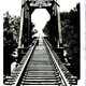 Railroad bridge under construction on Walnut Creek. Photo courtesy of Mansfield Historical Museum & Heritage Center.