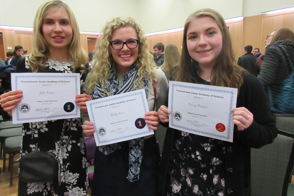 SV Students Place in PJAS Competition