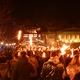 Thousands of torches glowed as Faith and Mallory walked alongside 35,000 others through Edinburgh's city center and up Calton Hill.