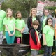 The Young Leaders Club of the Jennersville YMCA worked at the Jennersville Township Building on April 22