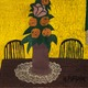 Floral Still Life ca 1944 by Horace Pippin