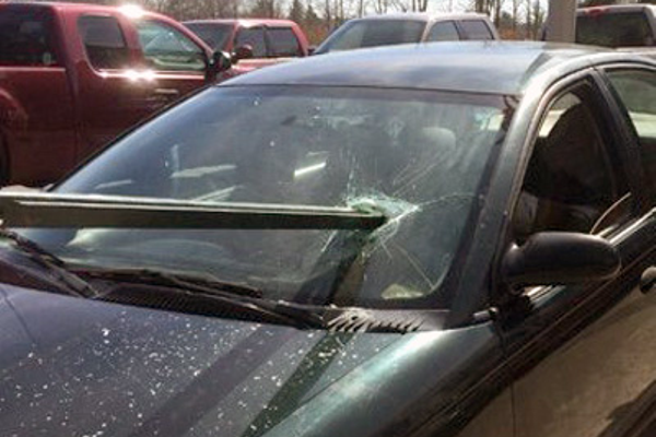 Impalement rescues may not be everyday occurances but Bellingham firefighters underwent training that involved a pole shattering a windshield and entering the auto's interior.