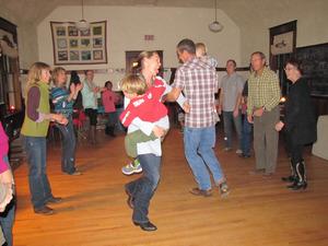 Medium kissells dance as family