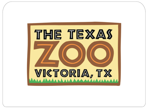 The 20texas 20zoo 20  20logo artwork