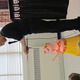 Rosie the Hula Pig puppet entertains children at Green Meadows Pre School with the help of puppet master John McDonough.