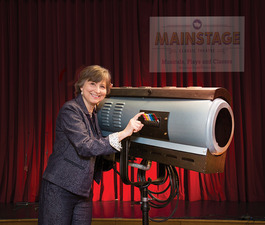 Lights Camera Action Mainstage Classic Theatres Marty Fredrick is Ready for Her Close-up - May 18 2015 0334PM