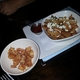 Those incredible Tempura Shrimp along with savory Feta Fries