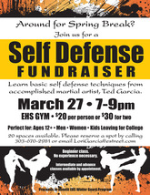 Medium self defense fundraiser